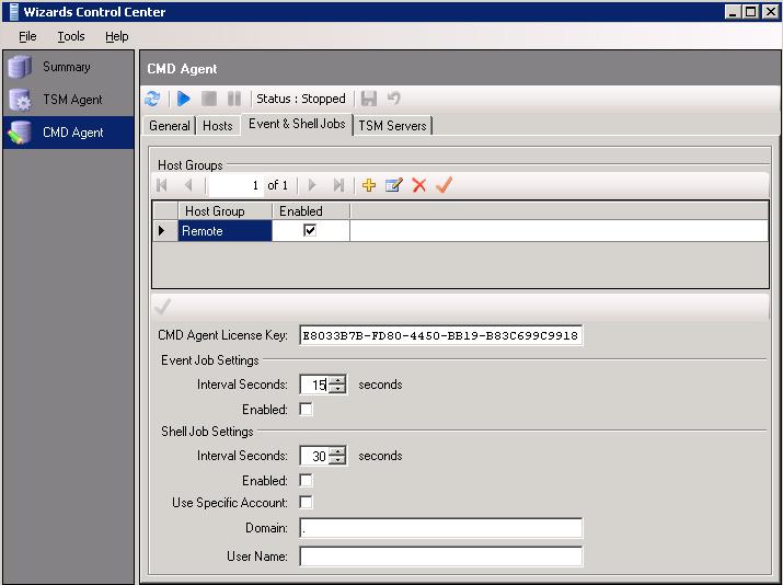 Installing the CMD Agent – Customer Support Center